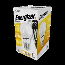 Energizer LED GLS (A60) E27 Warmwhite 806lm 8,2W/60W  3000 K