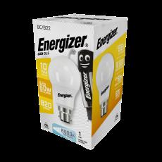 Energizer LED GLS (A60) E27 Daylight 806lm 8,2W/60W  6500 K