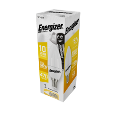 Energizer LED Candle E14 Warmwhite 470lm 5,2W/40W  3000 K