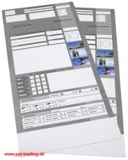 Silverline 2301 Auftragstasche (1000 St) -E/FR/DE-