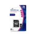 MediaRange Micro SDHC Card 16 GB Class 10 mit Adapter MR958