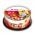AgfaPhoto CD-R 700 MB 52x Speed / 25-Cakebox