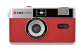 Agfa Analogue Photo Camera 35mm red incl. case