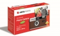 Agfa Analogue Photo Camera 35mm coffee brown incl. case
